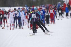Hafjell Skimarathon 2015.  Foto: Geir Olsen
