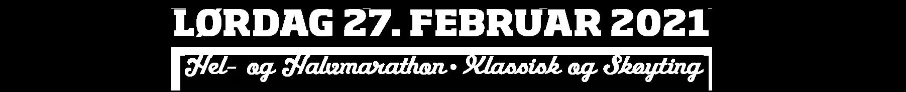 Hafjell skimaraton logo